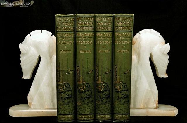 Onyx boekensteunen 2