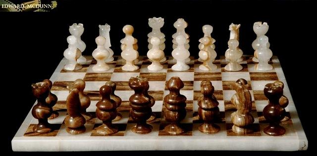 Onyx schaakbord