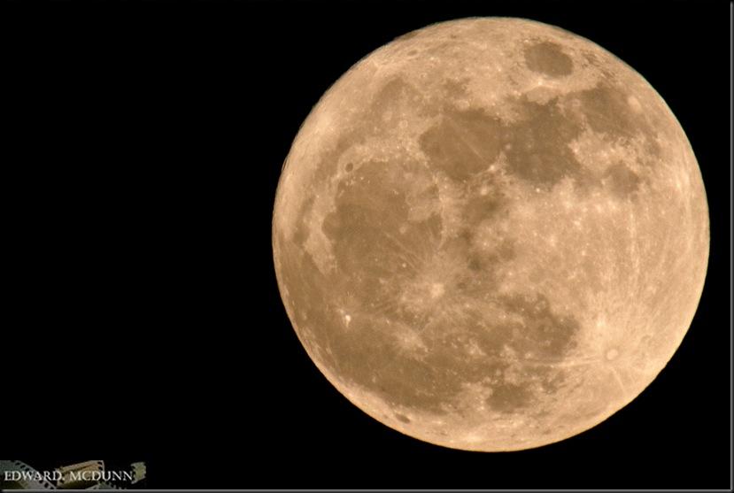Volle maan 14% groter
