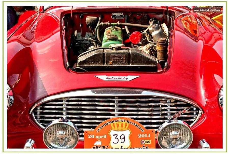 Austin Healey motor