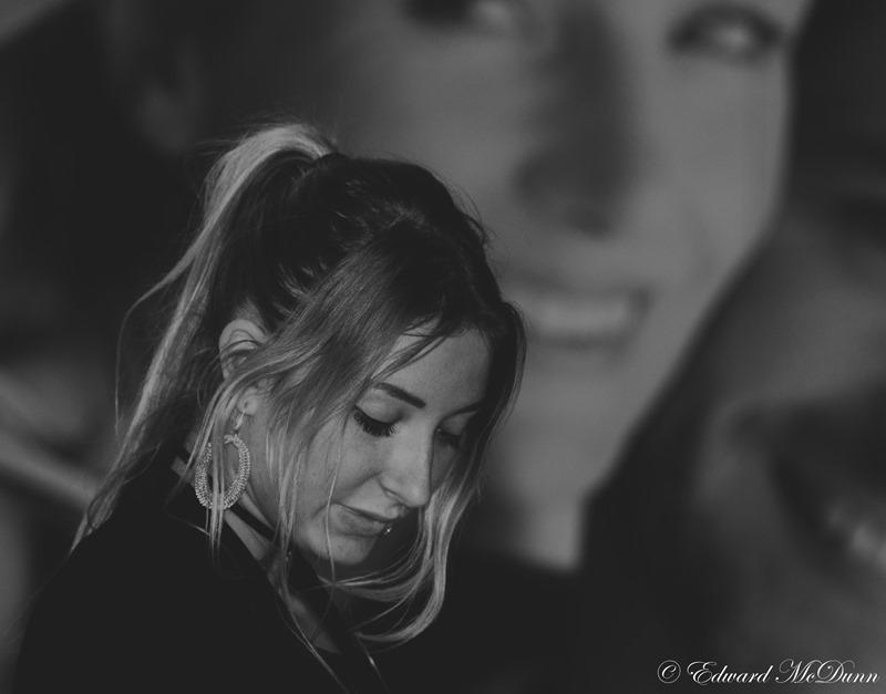Portret in zwart-wit