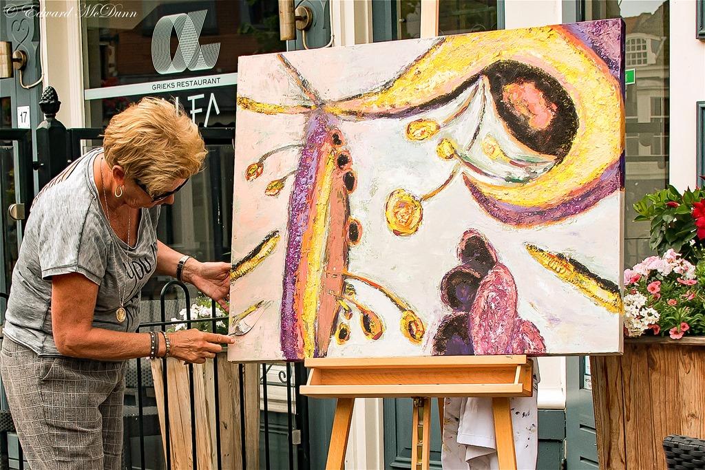 Genoeg Schilderen met paletmes – Fotosite van Edward Mcdunn #PE74
