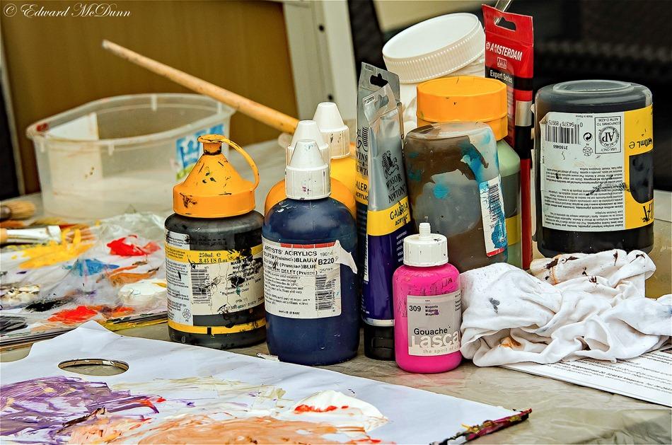 Schilderen met paletmes (3)