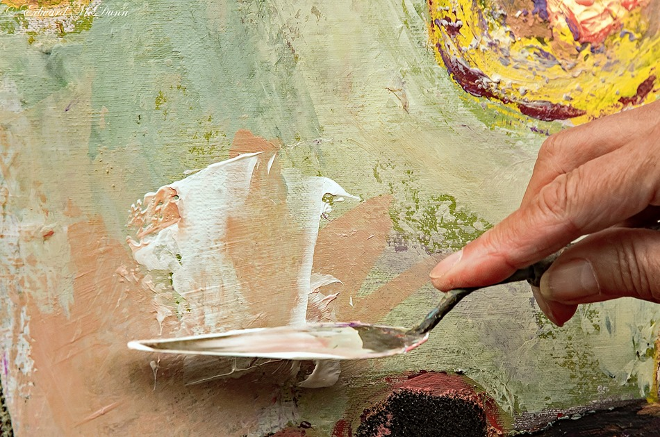 Schilderen met paletmes (4)