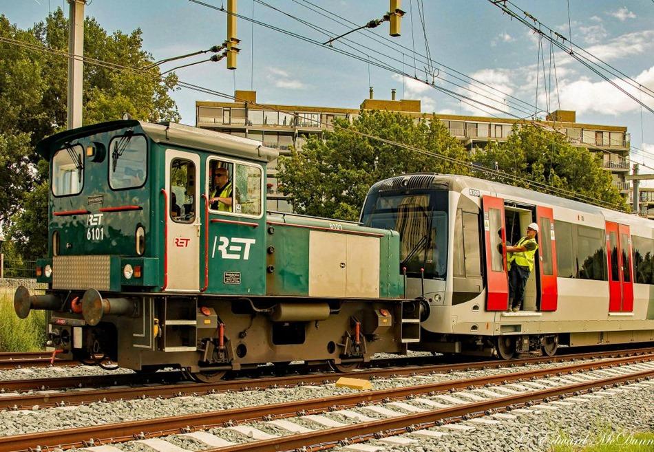 Proefritten hoekse metrolijn (1)