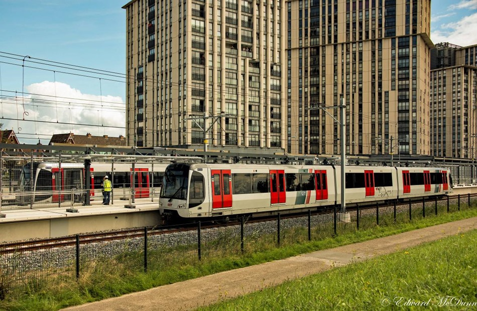 Proefritten hoekse metrolijn (2)