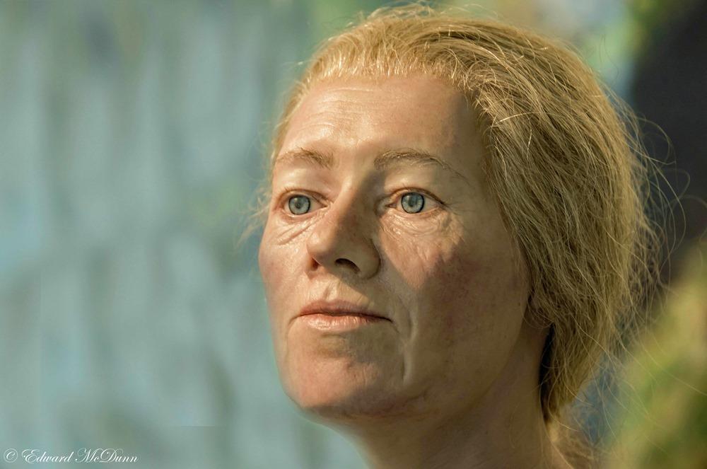 Vrouw begin elfde eeuw