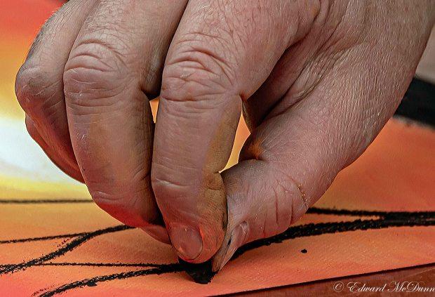 Tekenen met houtskool