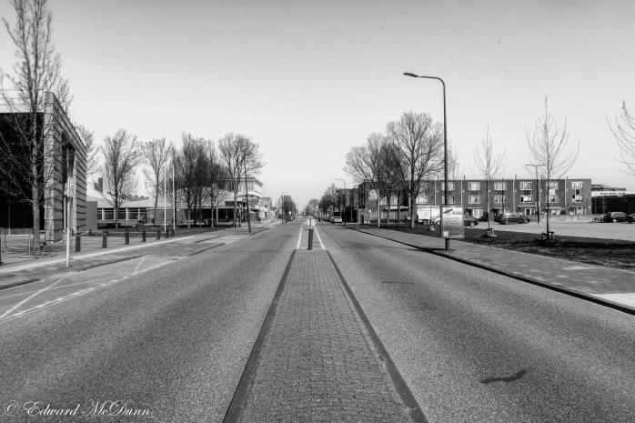 Het is stil op straat