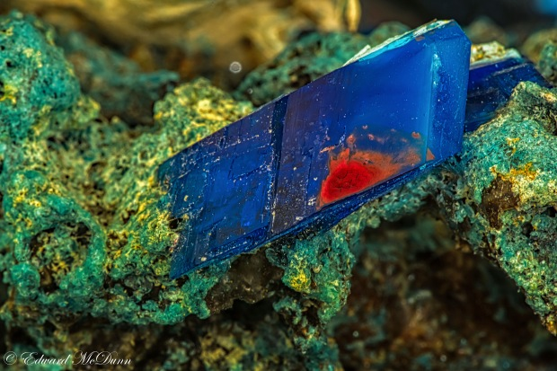 Electric blue Chalcanthite (2)